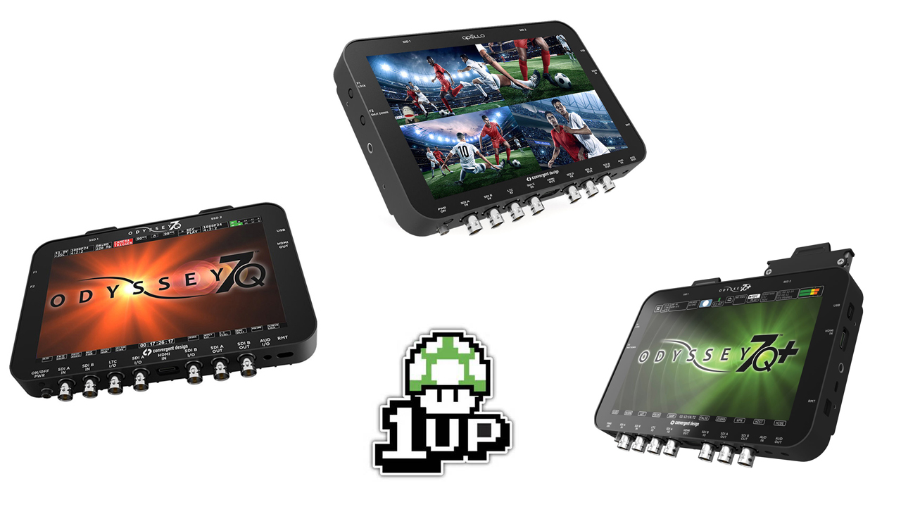 Odyssey 7Q / 7Q+ and Apollo Firmware Update - Dual-4K, 6G-SDI and More