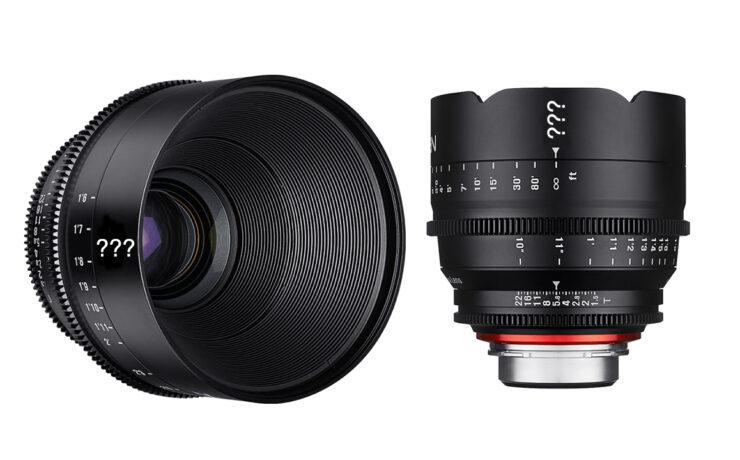 Two New Xeen Cinema Lenses from Samyang