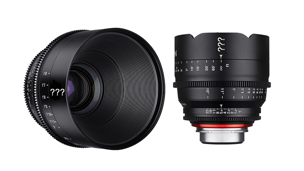 Two New Xeen Cinema Lenses from Samyang