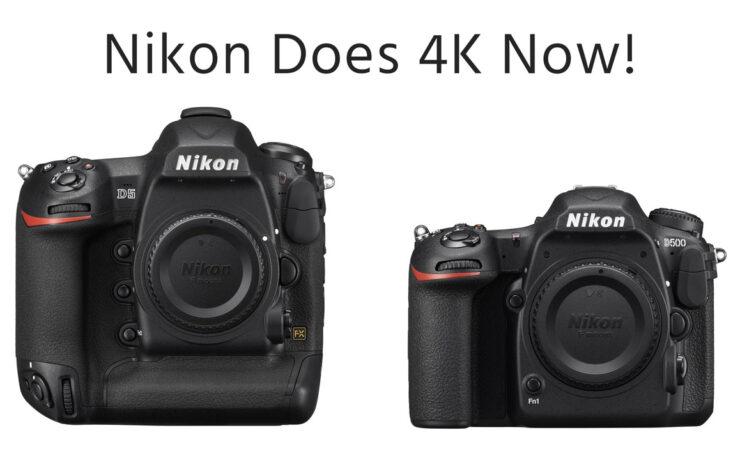 New Nikon 4K DSLR Cameras Introduced - Nikon D500 & D5