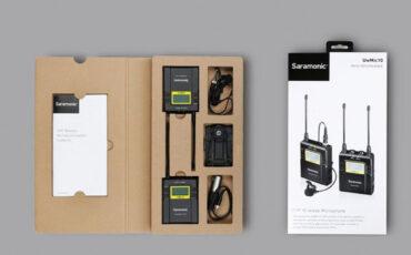 New Saramonic UwMic10 Wireless Microphone Range
