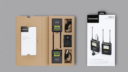 New Saramonic UwMic10 Wireless Microphone Range