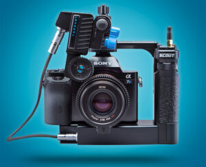 scout active camera cage - front