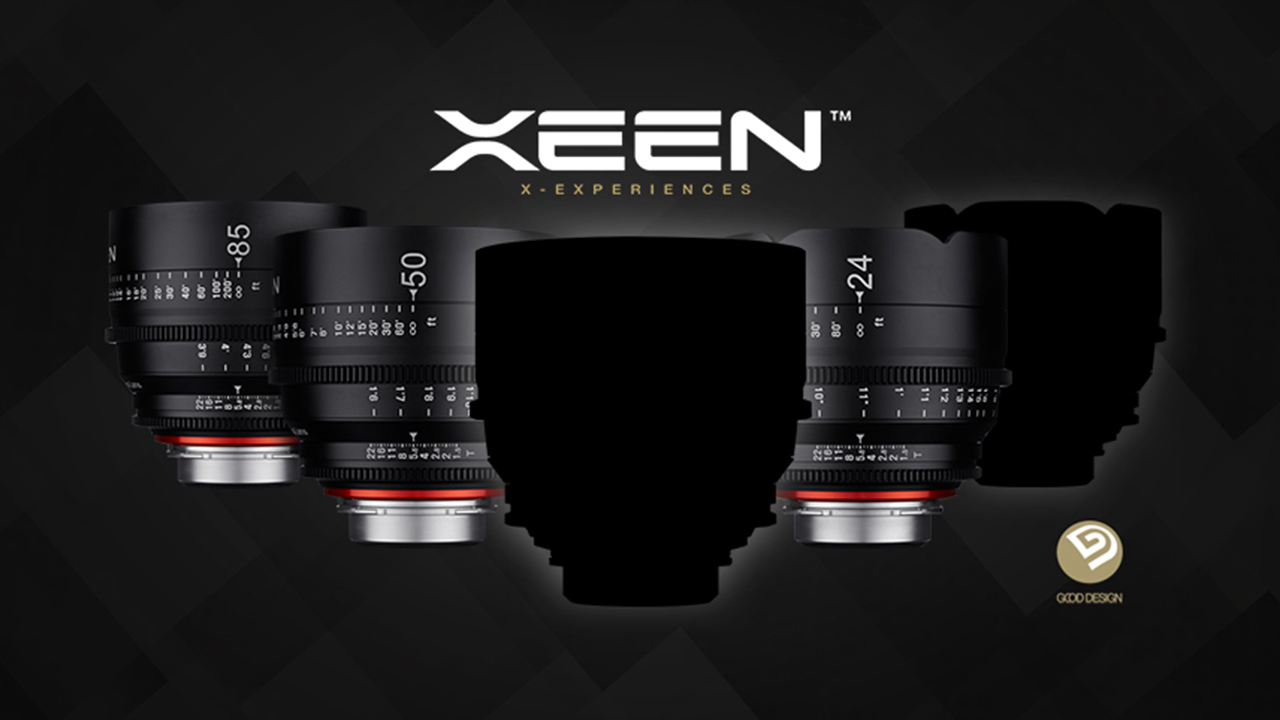 Xeen cinema lenses lineup