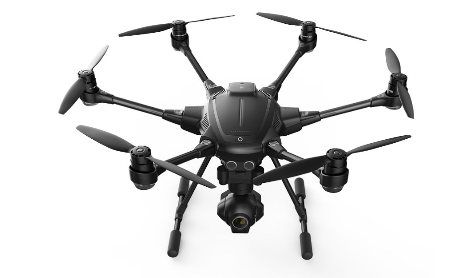 DJI Competitor: Yuneec Typhoon H Drone Can Avoid Obstacles in Real Time
