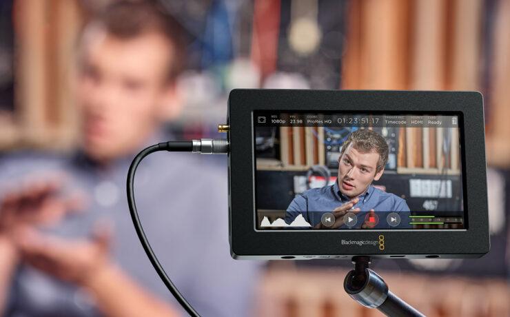 Blackmagic Video Assist Gets Firmware Update