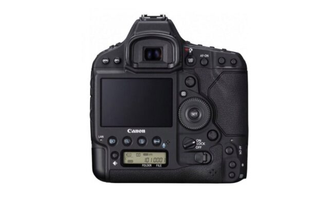 Canon EOS 1D X Mark II-Back