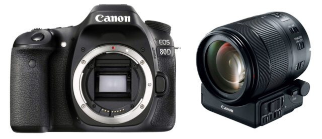 Canon EOS 80D with Lens