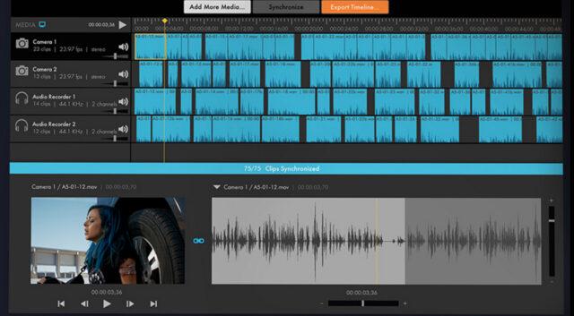 PluralEyes 4 Audio Software