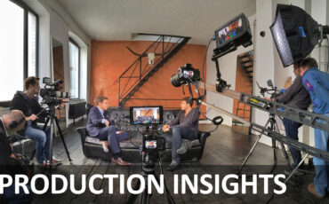 Production Insights - Making TV Politics Look Good with Large Sensor Cameras - KLARTEXT - Part 1