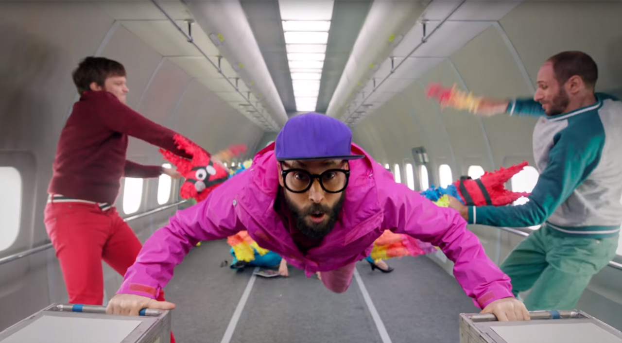 OK Go Release Behind-The-Scenes On Incredible Zero Gravity Music Video