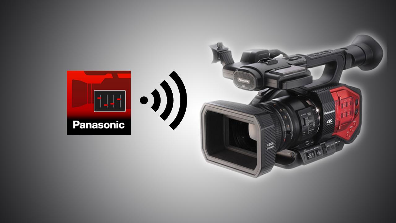 AG ROP – Panasonic DVX200 iPad Remote App