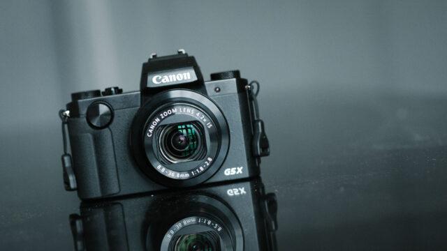 Canon PowerShot G5 X body