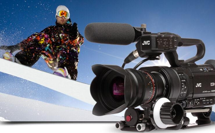 JVC GY-LS300 Slow Motion Recording Update Announced