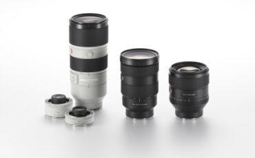 G Master Range of Interchangeable Lenses Announced by Sony