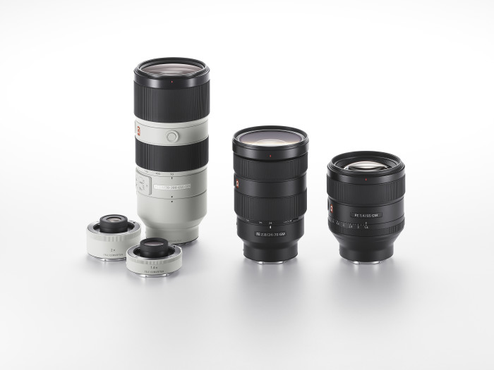 G Master Range of Interchangeable Lenses Announced by Sony