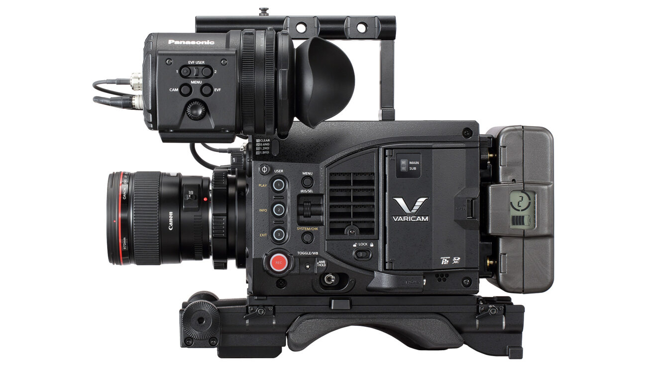 Panasonic VariCam LT is a Lightweight High-End 4K Cinema Camera
