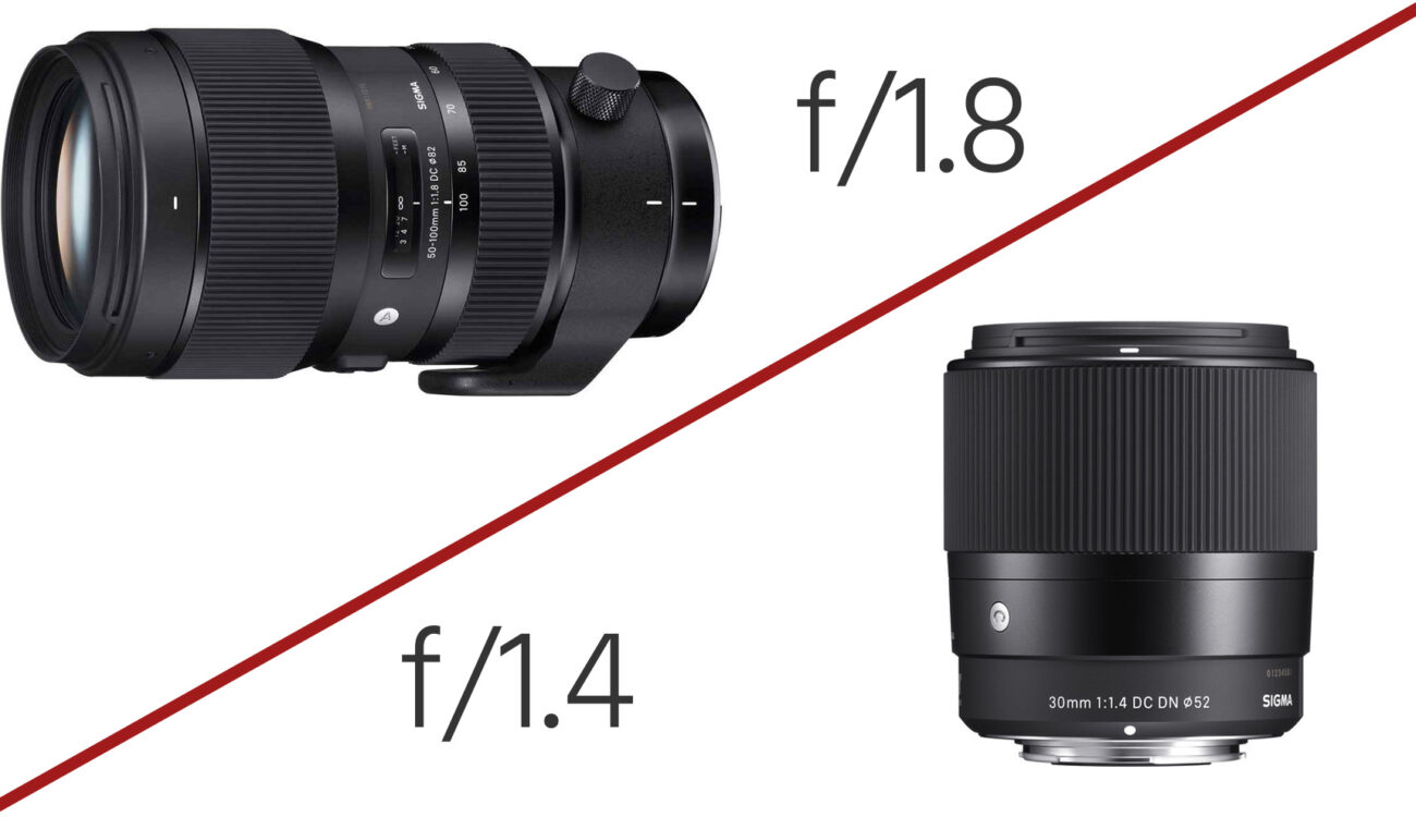 Sigma Announces Super-Fast 50-100mm F/1.8 Zoom & 30mm F/1.4 Prime for $339