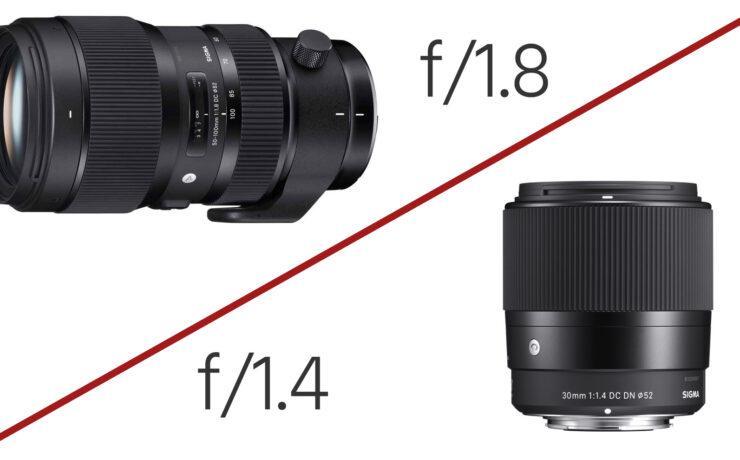 Sigma Announces Super-Fast 50-100mm F/1.8 Zoom & 30mm F/1.4 Prime for $339
