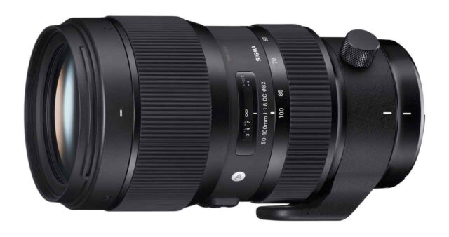Sigma 50-100mm f/1.8 Art Lens