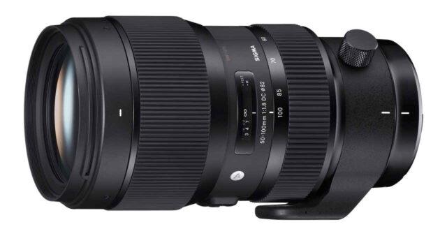 Sigma 50-100mm f/1.8 Art Lens
