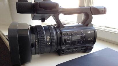 "Sony Z150 - 4K, 1"" sensor & 120fps in HD - Hands-On Impressions"