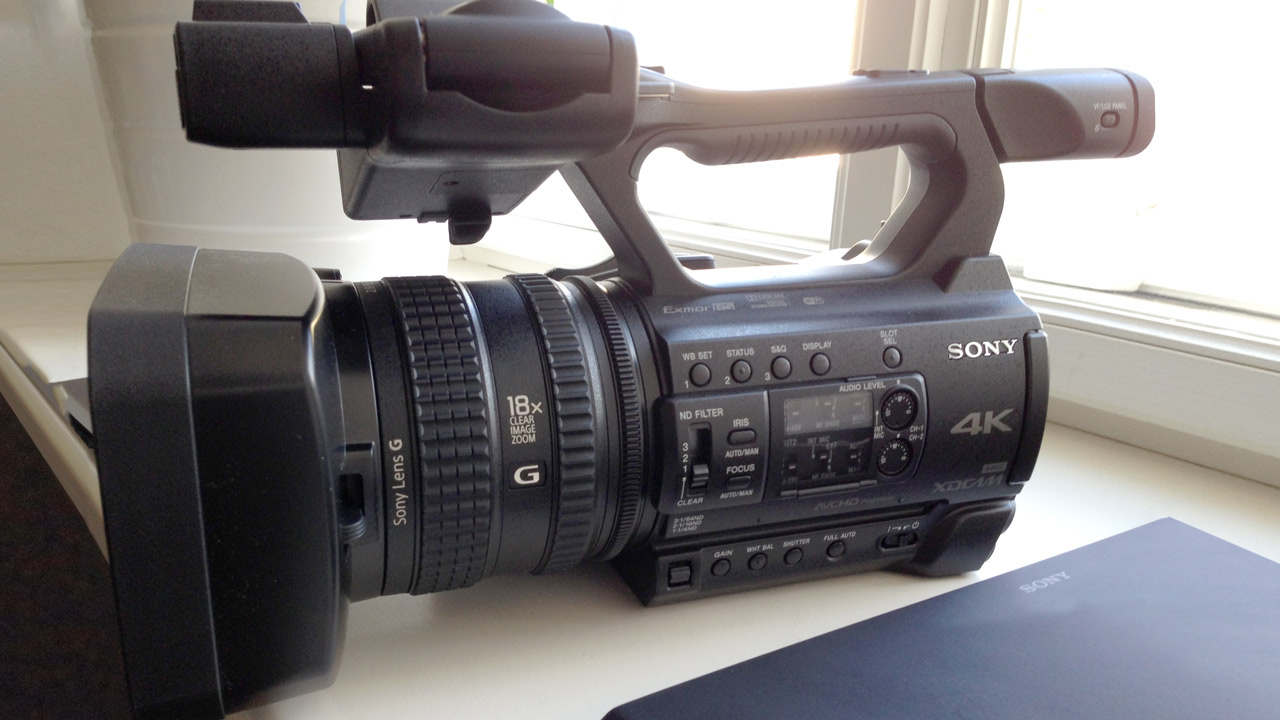 "Sony Z150 - 4K, 1"" sensor & 120fps in HD - Hands-On Impressions"