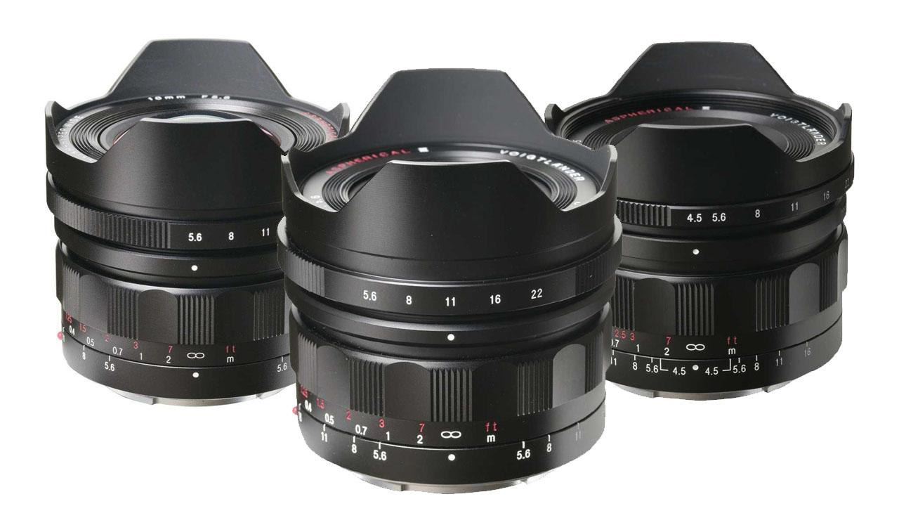 Three New Super-Wide Full-Frame Voightlander E Mount Lenses