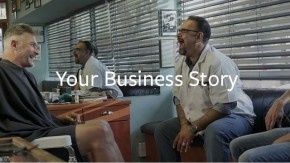 Your Business Story Landing Page