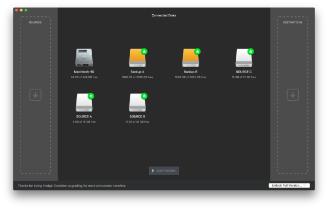 Hedge for Mac released