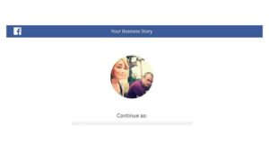 your business story choose a page