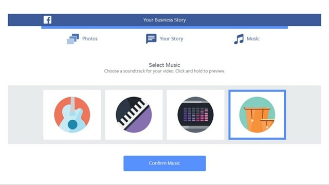 your business story music
