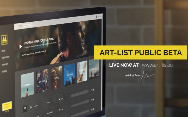 Art-list — The Affordable Licensing Subscription Service — Public Beta Opens