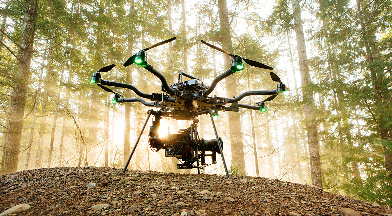 18kg Multicopter Swans In - Freefly Alta 8 Announced