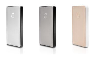G-Technology Announce USB-C Hard Drive For Apple Macbook
