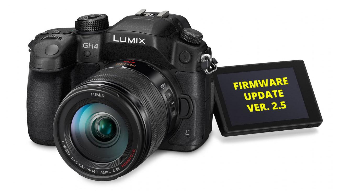 Panasonic Lumix GH4 Firmware V2.5 Update