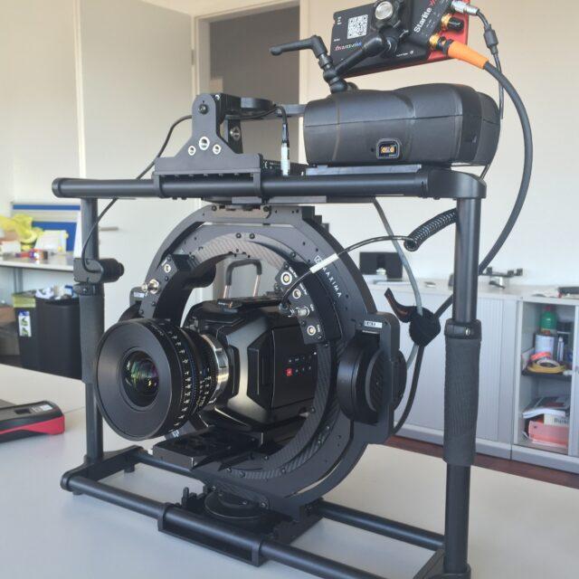 The Maxima gimbal by FoMa with the Blackmagic URSA Mini 4.6K