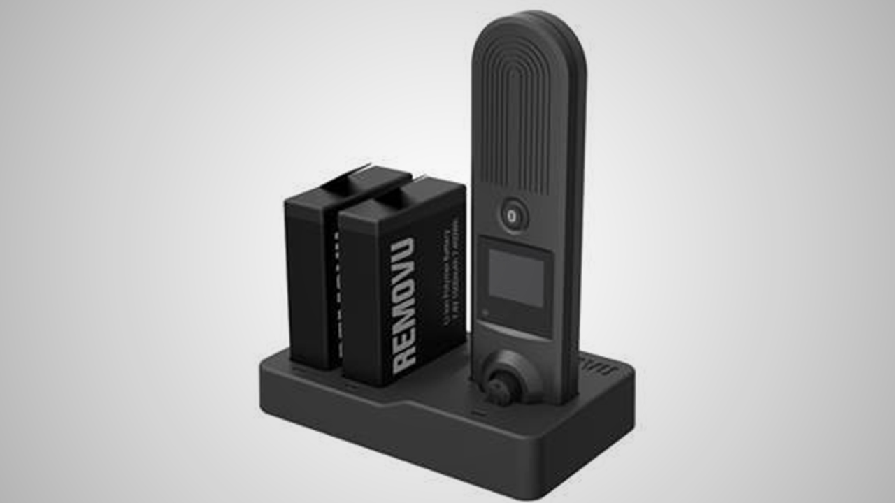 REMOVU S1 dual battery and handle charger