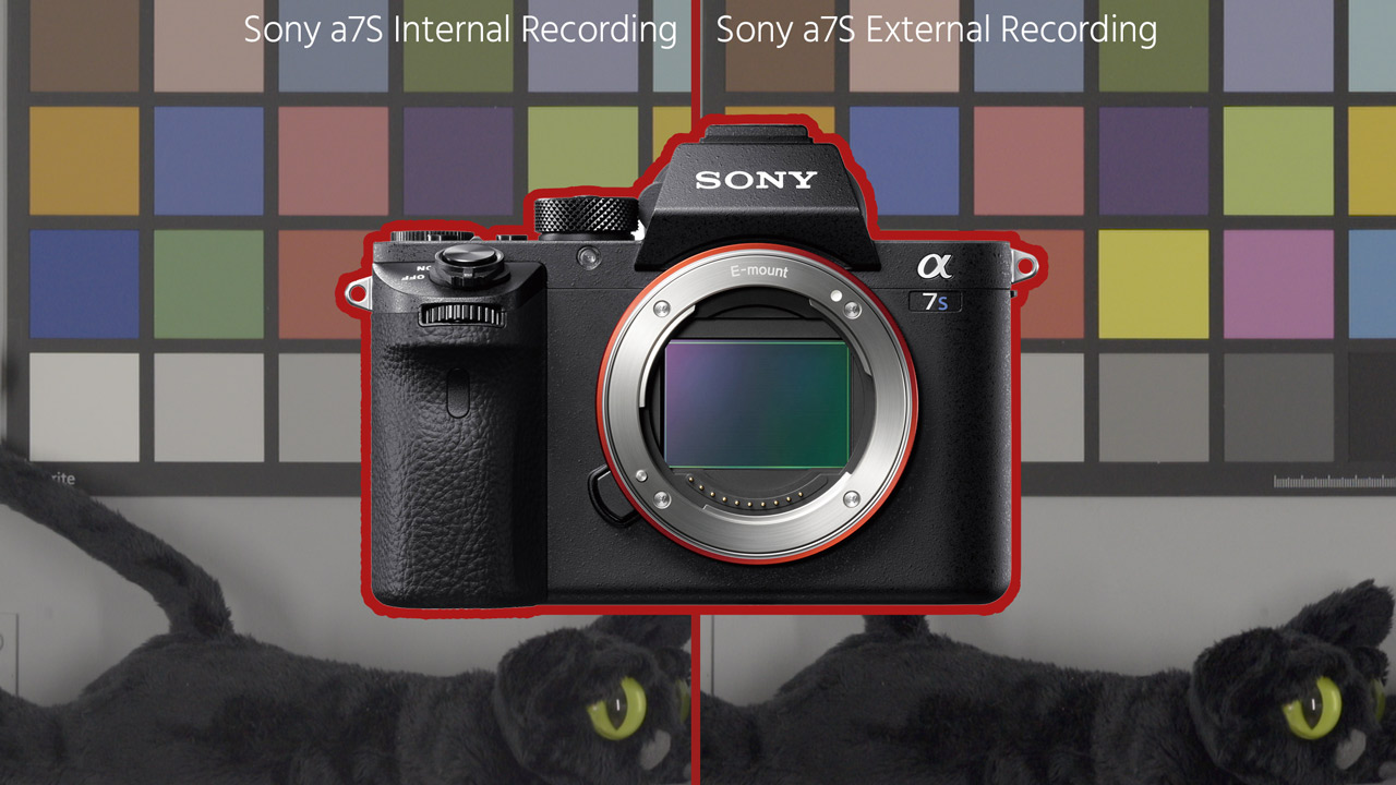 How to Fix Crushed Blacks on Sony a7S and a7S II External Recordings