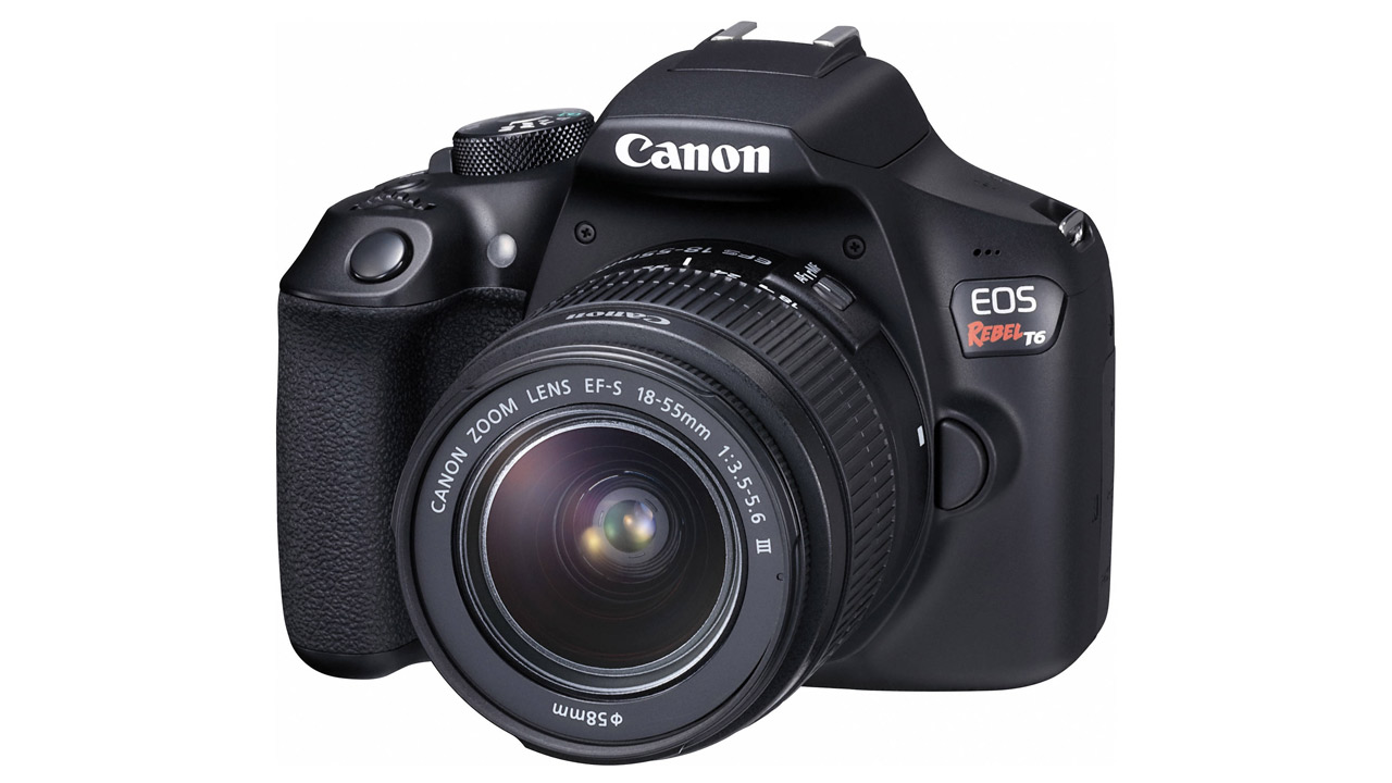Canon Rebel T6 (EOS 1300D) Announced — A Cheap Entry-Level DSLR