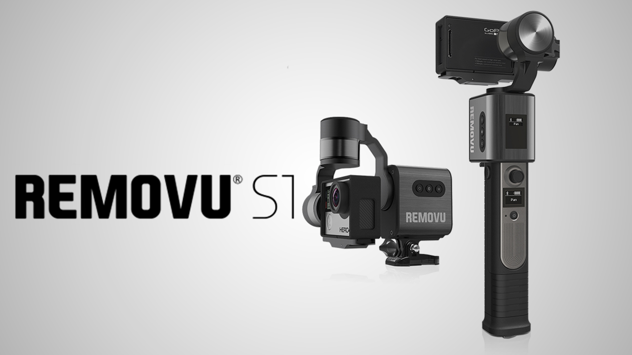 REMOVU S1: Waterproof, Remote Controlled GoPro Gimbal