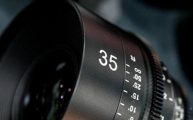 Samyang XEEN 14mm T3.1 and Xeen 35mm T1.4 Cine Lenses at BVE 2016