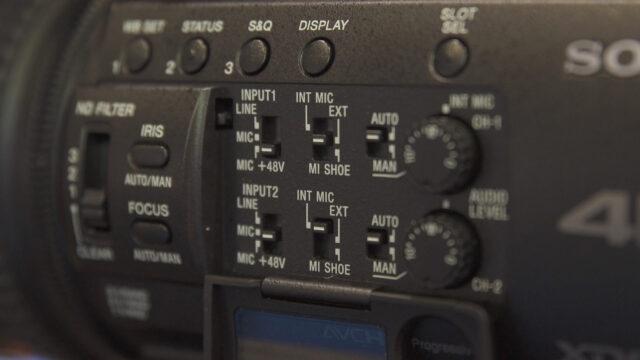 Sony PXW-Z150 layout
