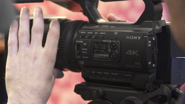 Sony PXW-Z150 form factor