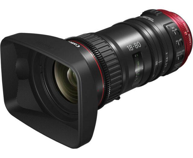 Canon CN-E 18-80mm servo lens