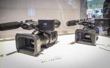 "Panasonic UX Series - New Line of 1"" Sensor 4K Handheld Camcorders"