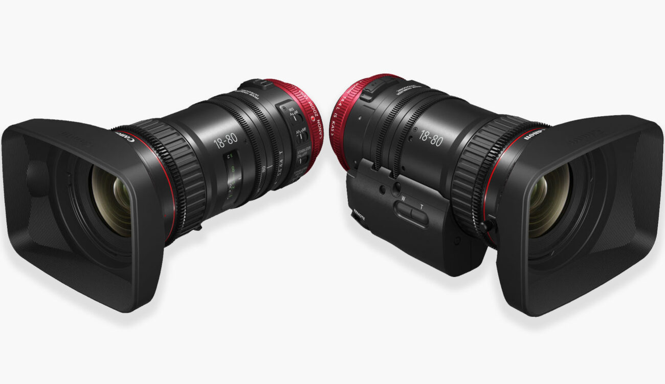 Canon Unveils Lightweight 18-80mm T4.4 Servo Lens for Just Over $5000!