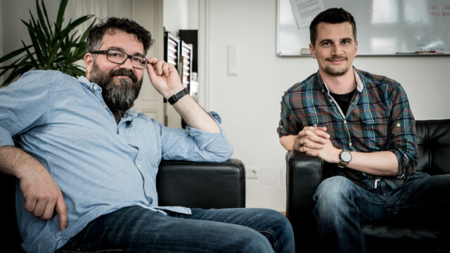 """A Good American"" director Friedrich Moser at Cinema5D HQ in Vienna"