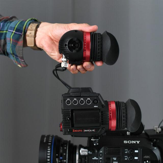 Size comparison: Gratical Eye vs. Gratical HD