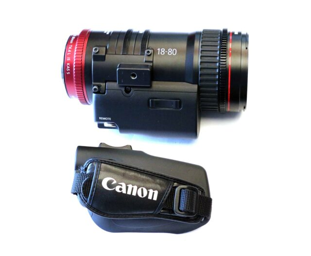 Canon CN-E 18-80mm with Handgrip - Photo Credit FDTimes